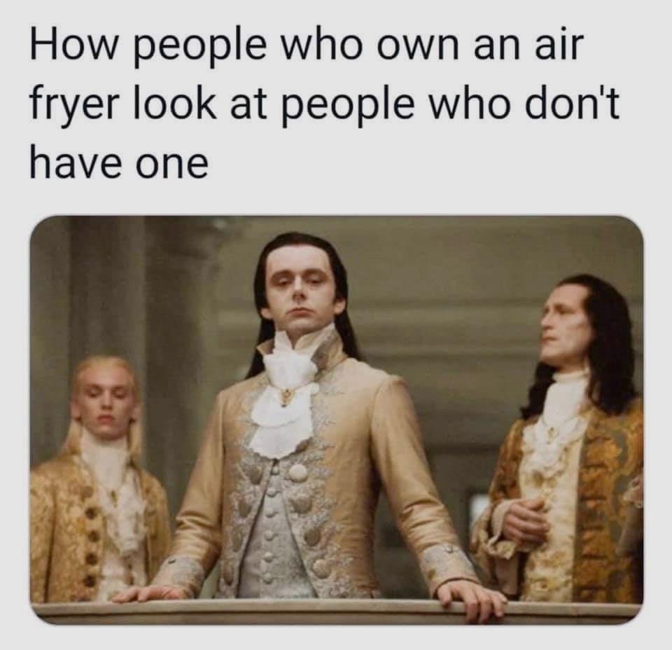 Air Fryer Meme